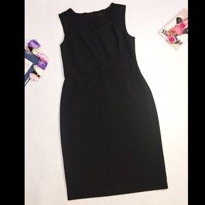 Ann Taylor black sleeveless elegant dress